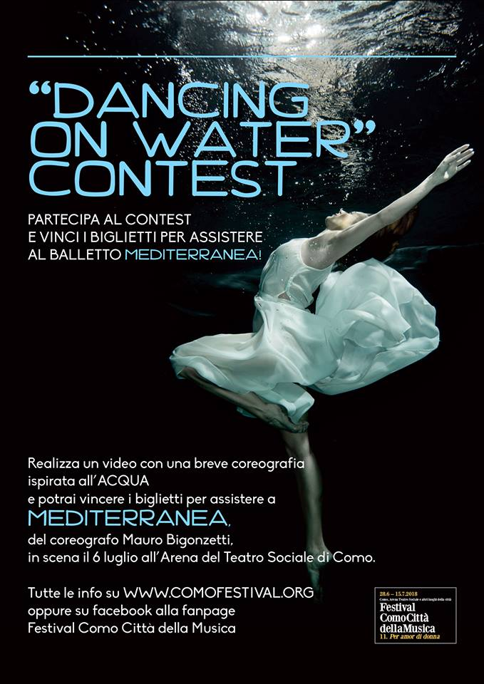 """DANCING ON WATER"" CONTEST"
