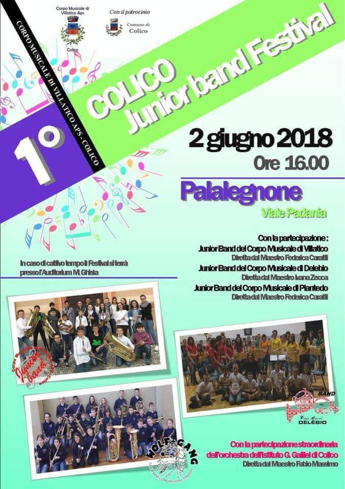 Junior Band Festival a Colico