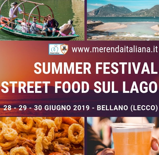 Summer Festival Street Food a Bellano